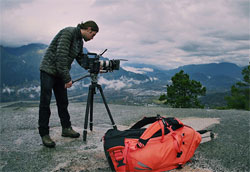 The 80 litre Shinn bag is rather ideal for documentary photographers and cinemographers.