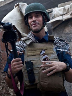 Foley was considered a well prepared and experienced photojournalist.  Source: AFP/Nicole Tung