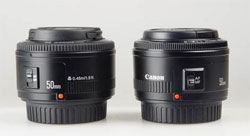 Attack of the clones! The left is the Yongnuo, the right is the Canon. Source: Etphotos.net