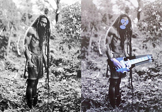 Is this fair? The work on the right by Prince is not infringement under the fair use exception. Prince made over US$10 million, Patrick Cariou - the photographer who went to Jamaica to photograph Rastafarians - made US$8000.