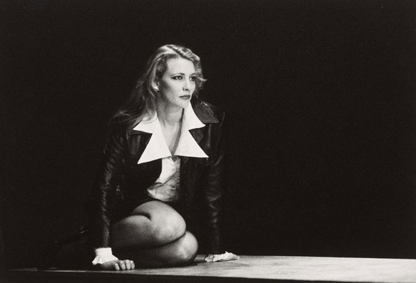 Cate Blanchett in The Blind Giant Is Dancing 1995 at the Belvoir St Theatre. Source: Supplied