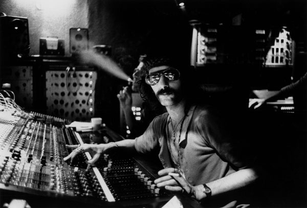 Music producer Felix Pappalardi photographed at Electric Ladyland, where Jimi Hendrix was known to lay down some guitar riffs. Source: Supplied