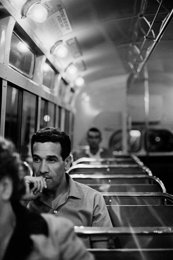 Charles Perkins on his way home from Uni in 1963. Perkins was an Indigenous rights campaigner and bureaucrat. Son of a Kalkadoon father and Arrernte mother, Perkins is widely credited as the first Aboriginal person to graduate from an Australian university. He gained a BA from the University of Sydney in 1966. Source: Supplied