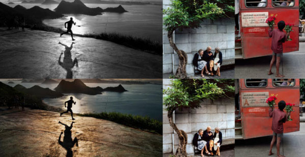 Spot the difference in these photos. Source: Petapixel. Photo: Steve McCurry