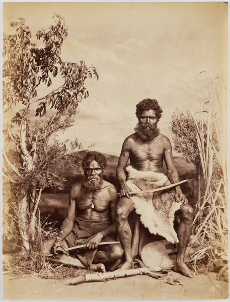 2015.010.013. J.W. Lindt, Aboriginal No. 10, albumen print. Source: Peter and Olivia Farrell Australian Photography Collection/Supplied.